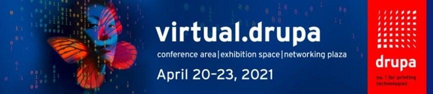 Logo virtual.drupa