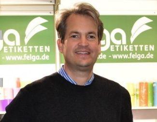 Philip Grimm, Geschäftsführer, Felga Etiketten, Bad Zwischenahn