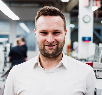 Matthias Vollherbst, Geschäftsführender Gesellschafter, VollherbstDruck GmbH, Endingen