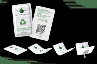 Die funktionalen Verpackungsfolien sind recyclebar und mittels wässrigem Inkjetdruck zu bedrucken (Quelle: V-Shapes)