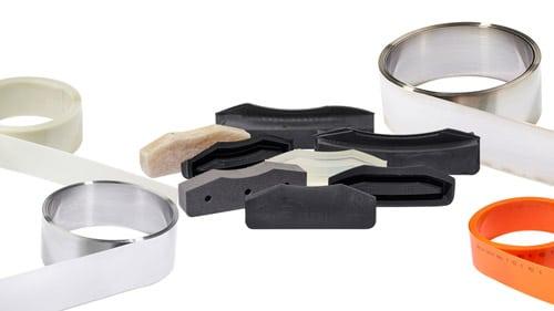 Das Tresu-Dichtungssortiment umfasst eine Reihe von verschiedenen Materialien, Verbindungen und Formen, um alle Druck- und Beschichtungsanwendungen abzudecken (Quelle: Tresu)