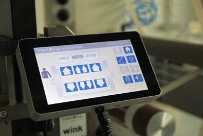 Display zur Bedienung des SmartGap-Systems (Quelle: Wink)