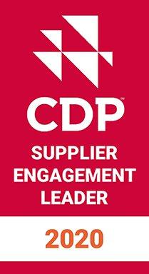 Zusätzlich zum EcoVadis Sustainability Rating wurde Konica Minolta, Inc. für das 2020 CDP Supplier Engagement Leaderboard des Supplier Engagement Rating von CDP ausgewählt (Quelle: CDP)
