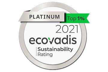 EcoVadis betreibt eine internationale Plattform zur Bewertung der Corporate Social Responsibility (CSR) von Lieferanten in Bezug auf Umwelt, Arbeitspraktiken, Ethik und nachhaltige Beschaffung (Quelle: EcoVadis)