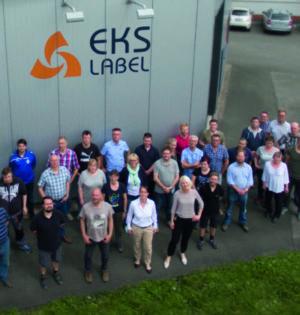 Das Team der EKS-Label in Kirchlengern  (Quelle: EKS-Label)