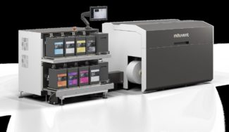 Die Mouvent LB701-UV für den Etikettendruck bekam ein neues Design und ist damit noch bedienungsfreundlicher (Quelle: Bobst/Mouvent)