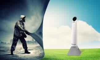 Auf Basis von UVPE-Technologie machen die Steritube-Systeme zur Luftentkeimung die DNA von Mikroorganismen in der Luft unschädlich (Quelle: IST Metz)