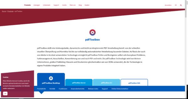 pdfToolbox 12.2 ist ein kostenloses Update für alle Besitzer einer pdfToolbox-Desktop-Lizenz und für alle Benutzer von pdfToolbox Server, pdfToolbox CLI oder pdfToolbox SDK mit einem Wartungsvertrag