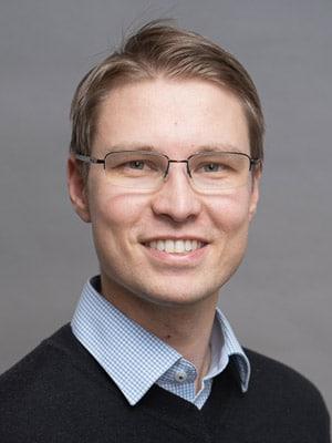 """Marko Rintanen, Produktionsleiter bei Nordic Label: """"Unsere Branche ist ziemlich konservativ, aber neue Dinge regen uns an, also war die Herausforderung, in neuen Bahnen zu denken, ein großer Schritt nach vorn."""" (Quelle: Xeikon)"""