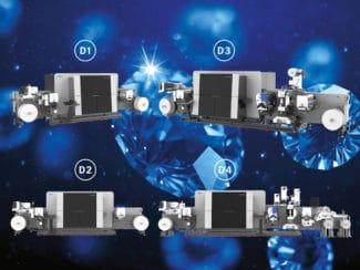Mit der Diamond Core Series der Gallus Labelfire wird ein Angebot für Druckereien jeglicher Art angeboten, unabhängig vom Stand der Erfahrung und dem Umfang an Anforderungen (Quelle : Gallus Ferd. Rüesch AG)