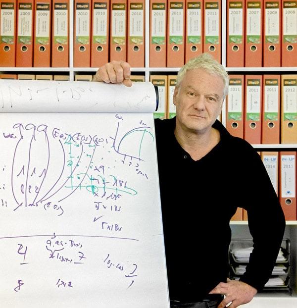 Phillip Bock, INnUP Deutschland GmbH, bei der Präsentation des KI-Projektes (Foto: Frank Pusch)