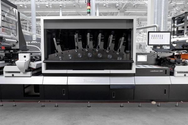 Die Canon LabelStream 4000 wir durch das neue Frontend von Hybrid Software produktiver und einfacher zu bedienen (Quelle: Canon)