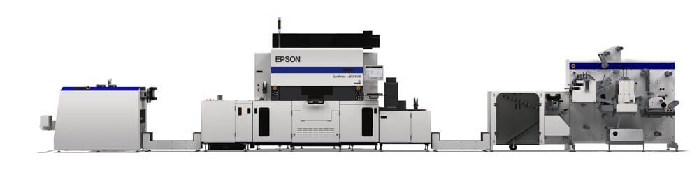 Epson und GM haben ein Komplettsystem für die digitale Etikettenproduktion entwickelt (Quelle: Epson)