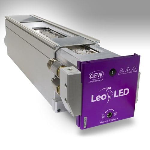 HP-Etikett hat sich bewusst für LED-UV Trocknung von GEW entschieden (Quelle: GEW)