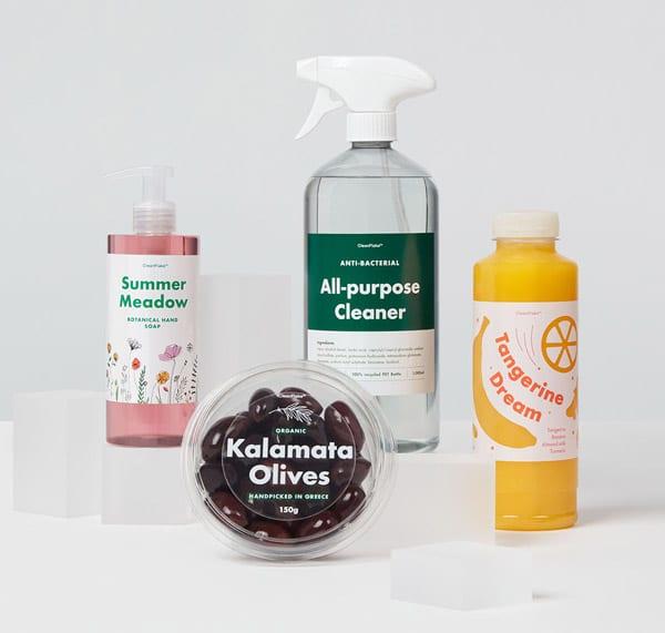 Mit den neuen CleanFlake-Etikettenmaterialien von Avery Dennison wird die Recyclingfähigkeit von PET-Verpackungen nochmals verbessert (Quelle: Avery Dennison)