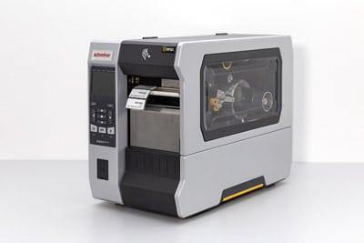 Der RFID-Drucker dient zur Herstellung der RFID-Etiketten (Quelle: Schreiner Group)