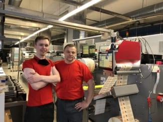 Das EyeC ProofRunner Web wurde bei Spektr in Belarus auf einer Bobst Expert M3 Flexodruckmaschine installiert (Quelle: EyeC)