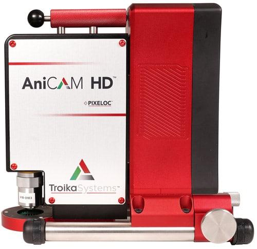 Das neue AniCam HD von Troika Systems für die Ermittlung von Volumen, Tiefen, Stegbreiten, Distanzen, Winkeln, Rasterweiten (Quelle: Troika Systems)
