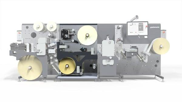 Das Multi-Layer-Kit zur Grafotronic CF2 erweitert die Produktionsmöglichkeit und die Flexibilität bei Kemna Druck Kamen (Quelle: Grafotronic)