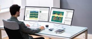 PackZ 7 verspricht Komfort für Multi-Screen-Arbeitsumgebungen (Quelle: Hybrid Software)