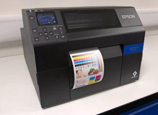Für das neue Etikettenmaterial hat sich Lintec zunächst an den Epson-Druckern orientiert (Quelle: Lintec)