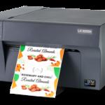 Der neue DTM Print LX3000e eignet sich mit seinem großen Tintensystem auch für mittlere Etikettenauflagen (Quelle: DTM Print)