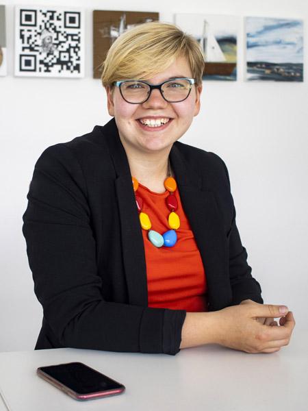 Friederike Heckmann, Geschäftsführerin Kemna Druck Kamen (Quelle: Kemna Druck Kamen)