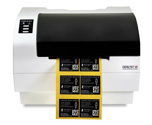 Das Primera Catalyst-Beschriftungssystem wird nun mit Color-Laserfolien im Gesamtpaket angeboten (Quelle: Schreiner Group)