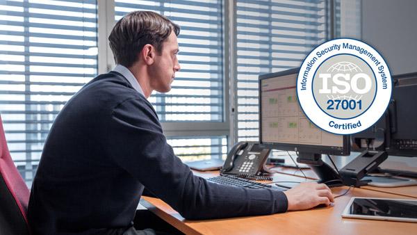 Mit dem Zertifikat ISO 27001 zeigte Bobst, dass man die Sicherheit der Daten ernst nimmt (Quelle: Bobst)