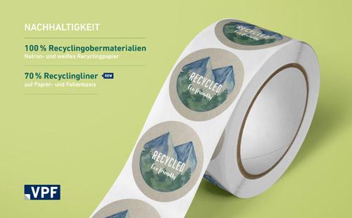 VPF legt großen Wert auf Nachhaltigkeit und entwickelt zunehmend recyclingfähige Produkte auch für den Liner-Bereich