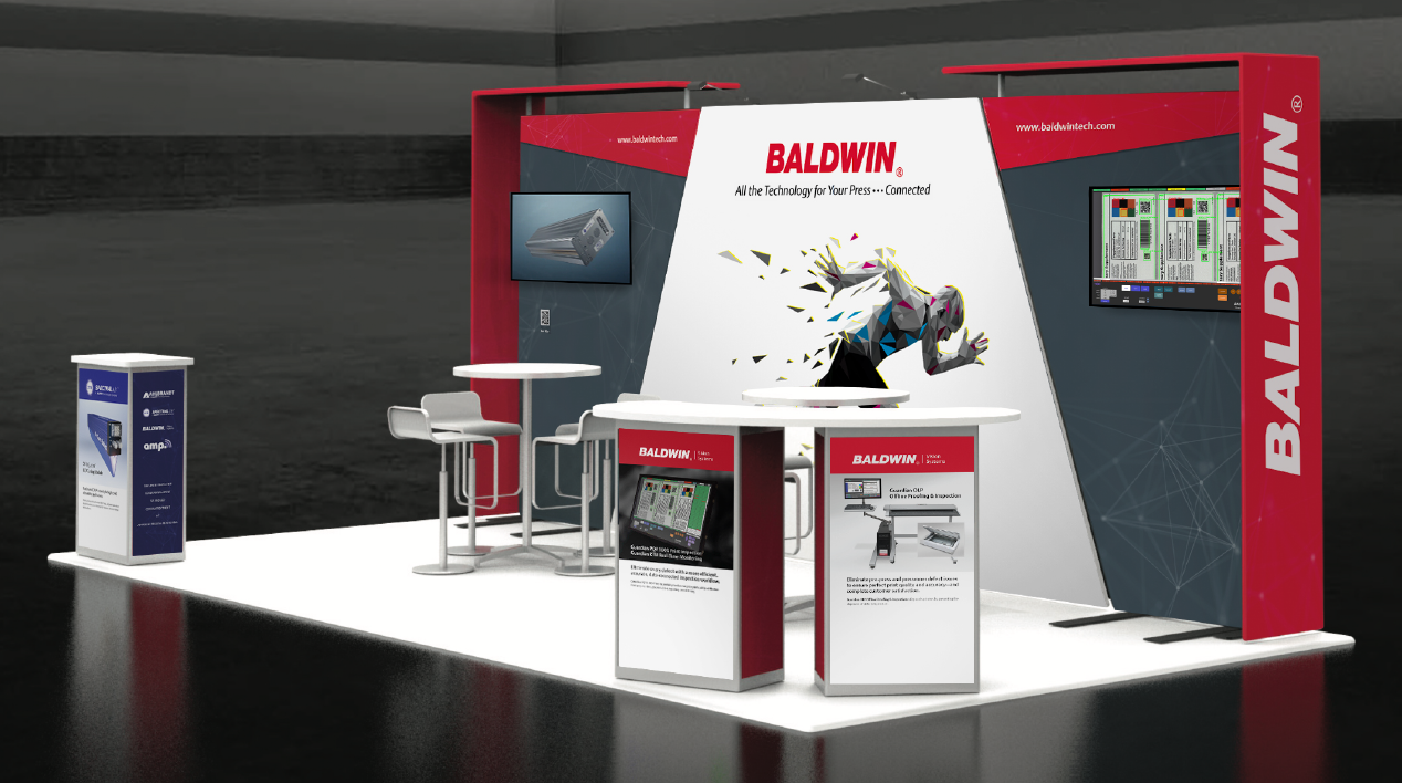 Baldwin zeigt auf dem Label Congress in Chicago seine neuesten Produkte und Technologien (Quelle: Baldwin)