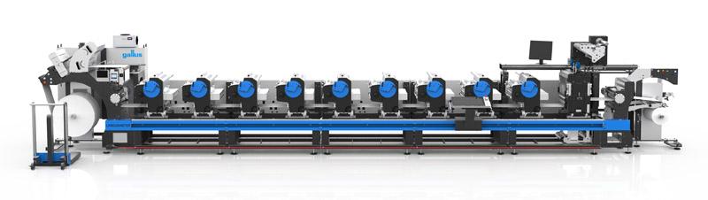 Die Gallus Labelmaster wird ab sofort mit umfangreichen neuen sowie optimierten Features ausgeliefert (Quelle: Gallus Ferd. Rüesch AG)