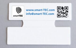 Das neue Smart-Label von smart-TEC ist robust, langlebig und flexibel einsetzbar (Quelle: smart-TEC)